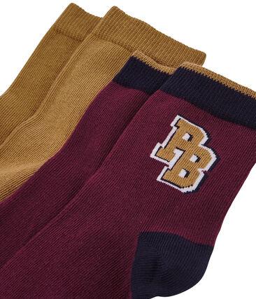 Lote de 2 calcetines de colores