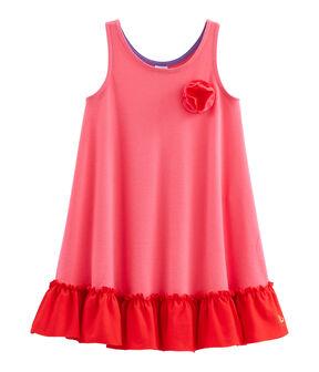 Vestido de niña rosa Geisha