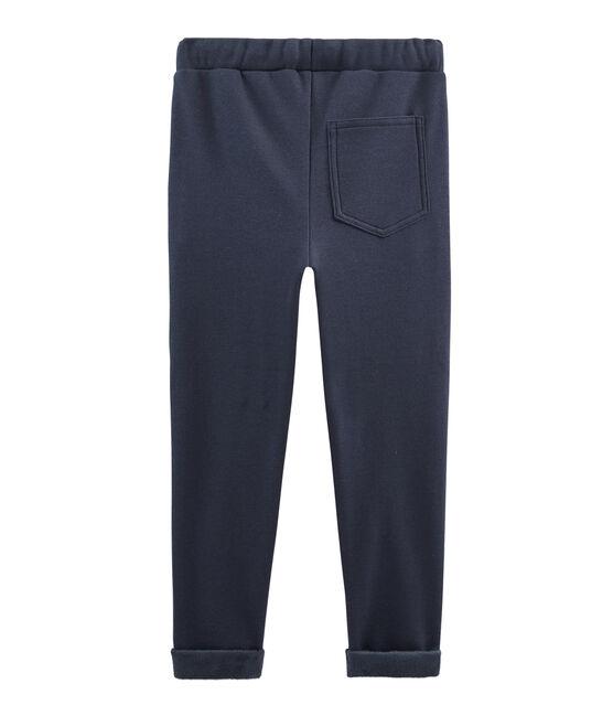 Pantalón de muletón cálido para niño SMOKING