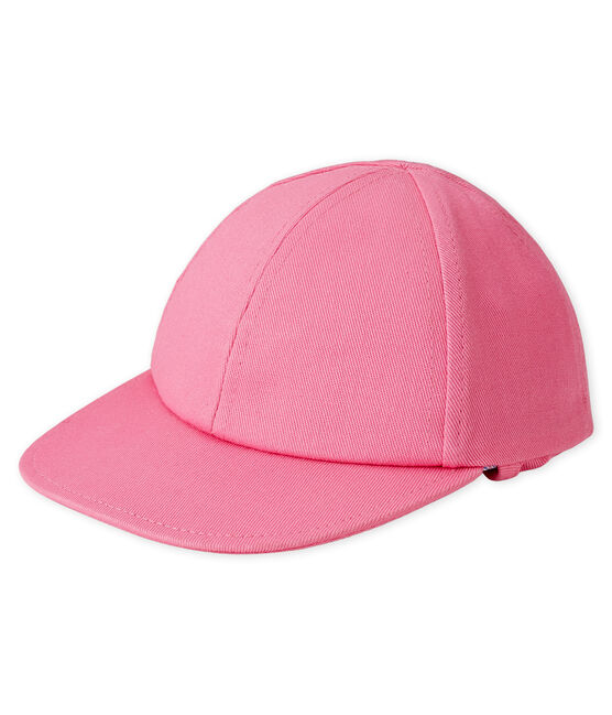 Gorra parasol bebé rosa Groseiller