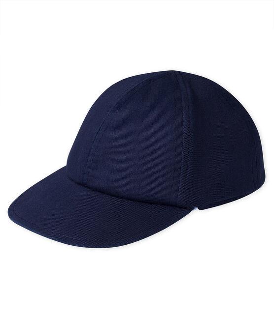 Gorra parasol bebé azul Smoking