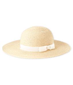 Sombrero de paja para bebé niña