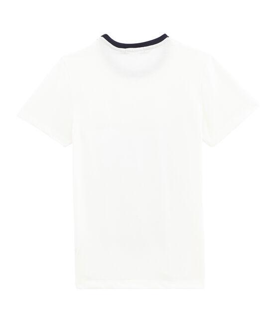 Camiseta para mujer a rayas blanco Marshmallow / blanco Multico