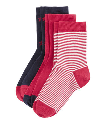 Lote de 3 pares de calcetines infantiles para niño