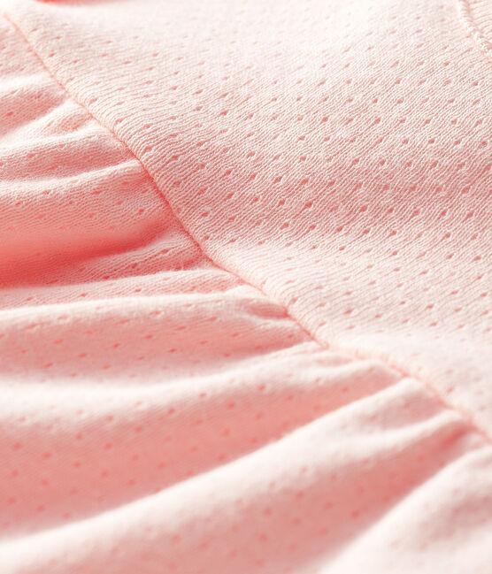 Blusa de manga corta lisa para bebé niña MINOIS