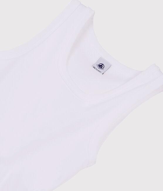 Camiseta de tirantes icónica para mujer blanco Ecume
