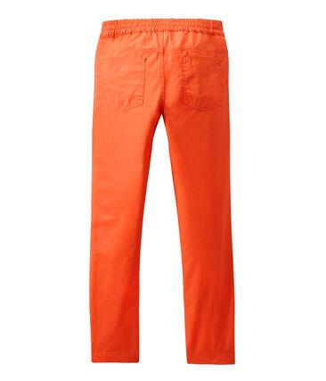 Pantalón con la cintura elástica para niño