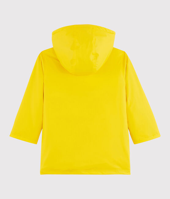 Impermeable abrigo para niña/niño amarillo Jaune