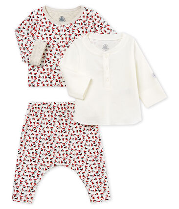 Conjunto 3 piezas estampado para bebé niño