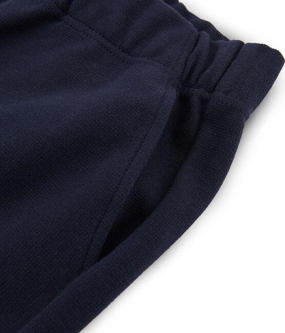 Pantalón para mujer azul Smoking