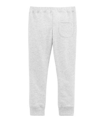 Pantalón para niño en muletón afelpado