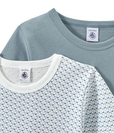 Lote de 2 camisetas de manga corta para niño lote .