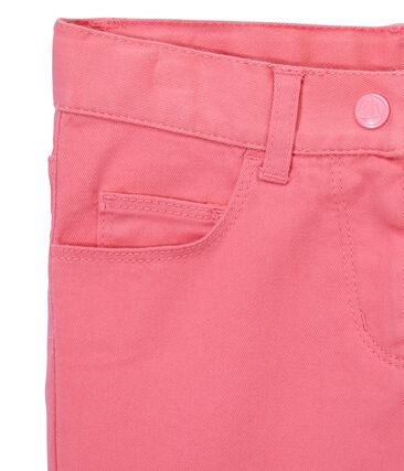 Pantalón para niña en jean colorido