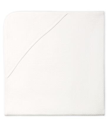 Manta para bebé de túbico blanco Marshmallow
