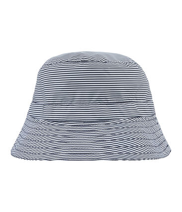 Sombrero bob reversible azul Smoking / blanco Marshmallow