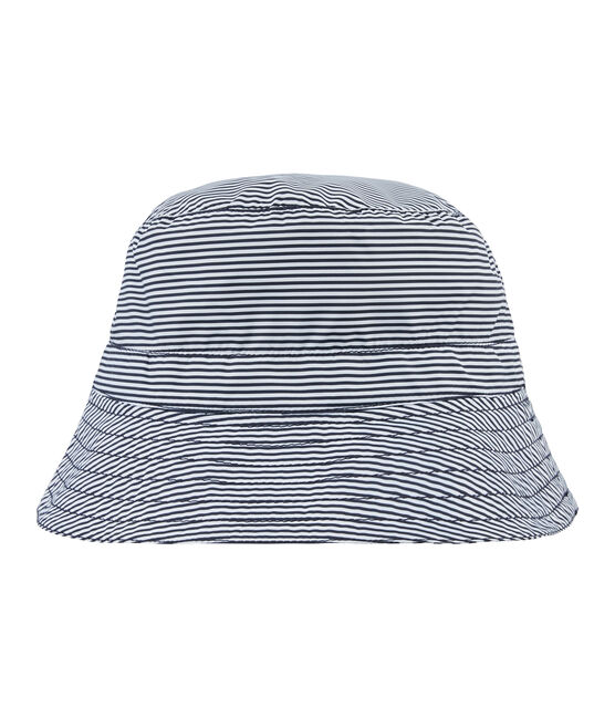 Sombrero bob reversible azul Smoking / blanco Marshmallow