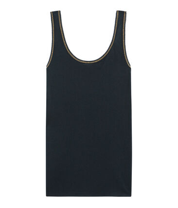 Camiseta de tirantes para mujer de punto 2x2
