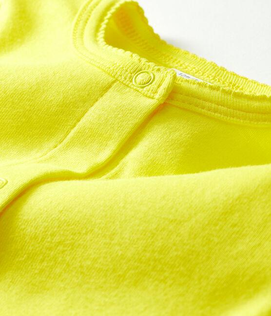 Cárdigan ligero para bebé niña amarillo Eblouis