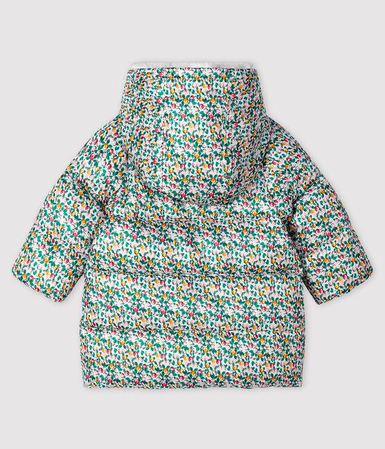Plumón acolchado para bebé niña blanco Marshmallow / blanco Multico