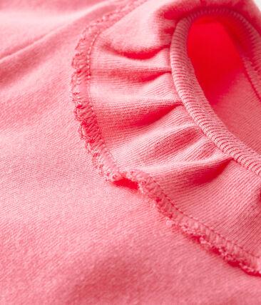 Bodi para bebé niña con collarín rosa Cupcake