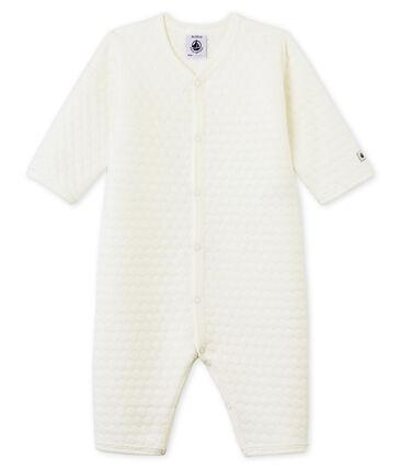 Pijama unisex de bebé sin pies en túbico