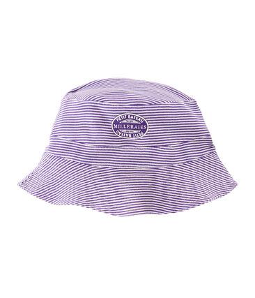 Sombrero bob reversible de canalé mujer null