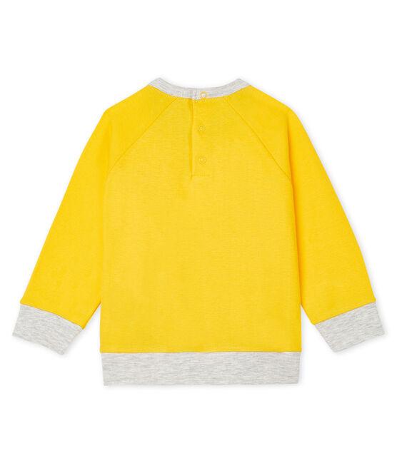 Sudadera ligera para bebé niño amarillo Shine