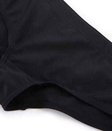 Braguita de traje de baño negro Noir