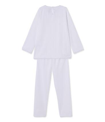 Pijama de lunares para niña
