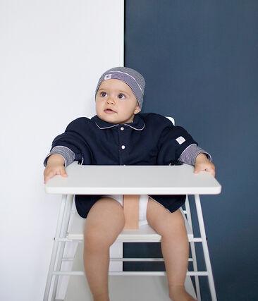 Capa para bebé unisex azul Smoking