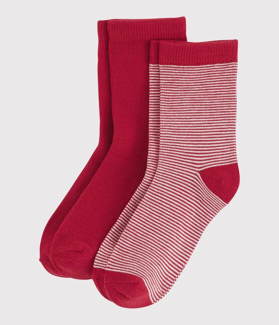 Lote de calcetines para niño rojo Terkuit