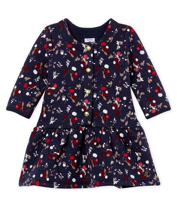 Vestido estampado para bebé niña