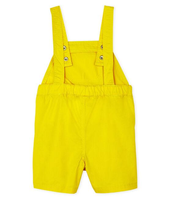 Peto corto de para bebé niño amarillo Gengibre