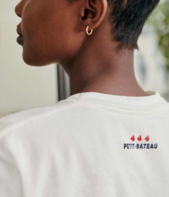 Camiseta unisex blanco Marshmallow