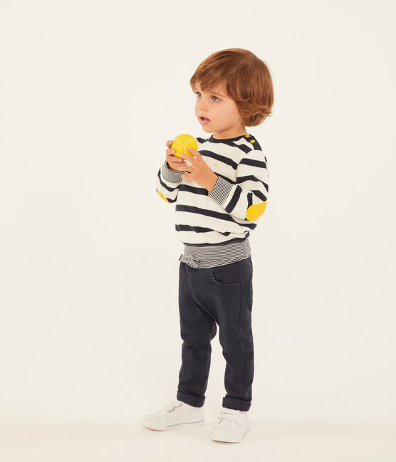 Pantalón de tela lisa para bebé niño SMOKING