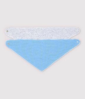 Juego de 3 baberos bandana para bebé de algodón orgánico lote .