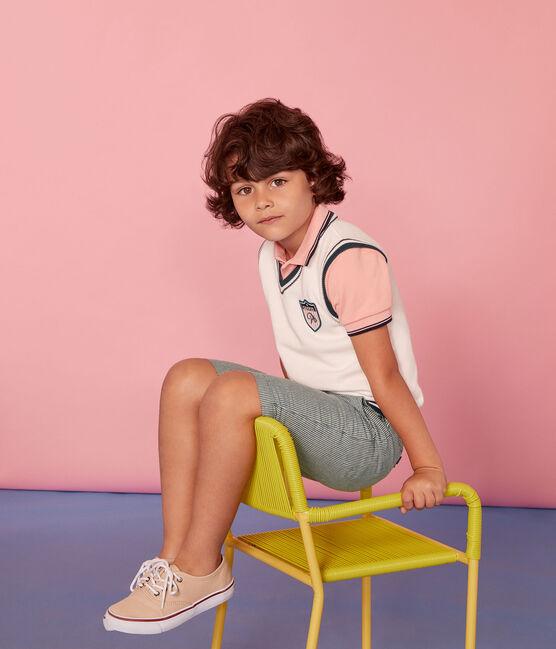 Chaleco infantil para niño blanco Marshmallow / blanco Multico