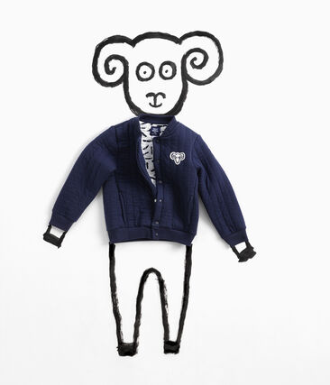 Teddy Jean Jullien azul Smoking