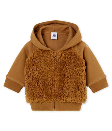 Sudadera con capucha para bebé niño sherpa