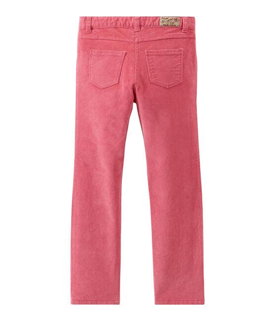 Pantalón para niña rosa Cheek