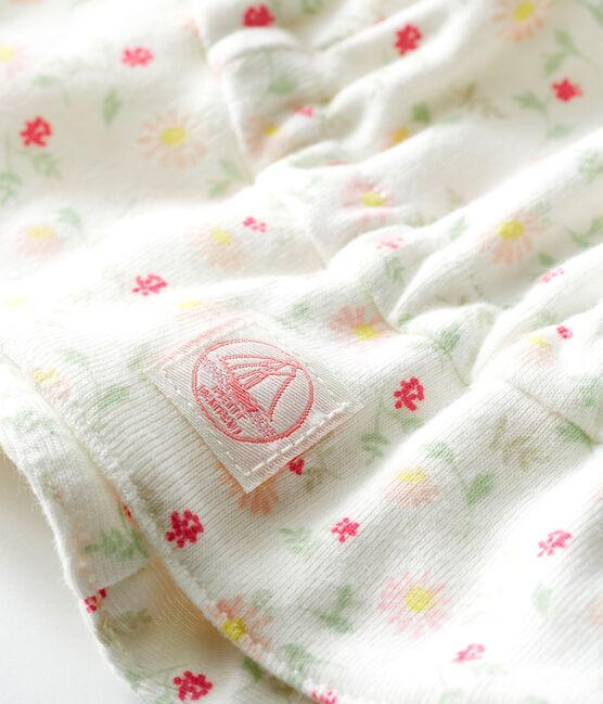 Sombrero de punto para bebé blanco Marshmallow / blanco Multico