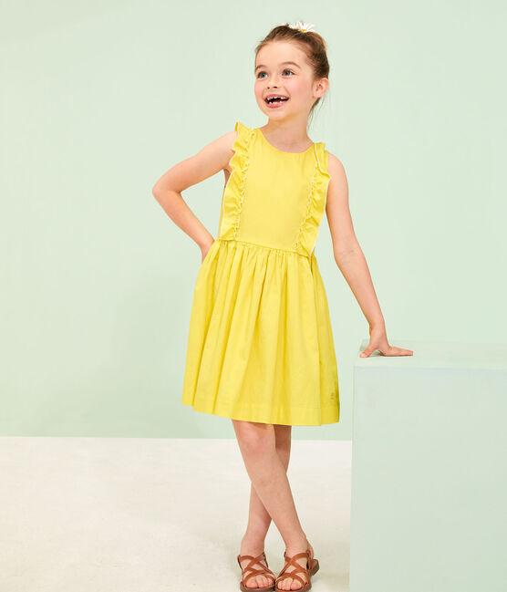 Vestido de niña amarillo Eblouis