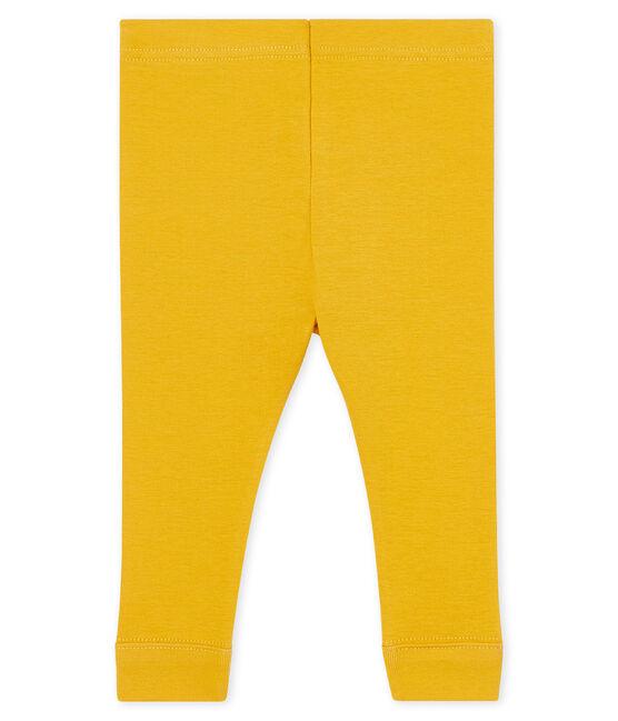 Leggings para bebé niña amarillo Boudor
