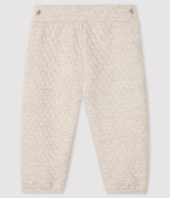 Pantalón de tela túbica para bebé niña gris Montelimar Chine