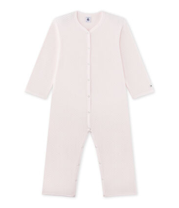 Pijama manta para niña rosa Vienne / gris Mistigri