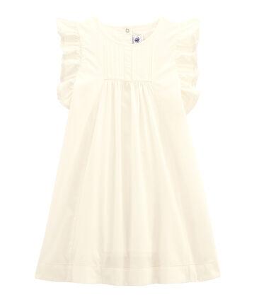 Vestido de cerimonía de niña blanco Lait