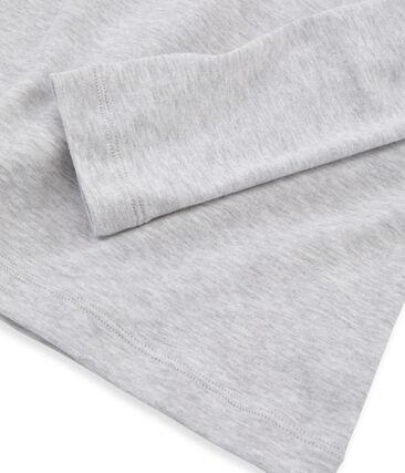 Camiseta de manga larga icónica de mujer gris Beluga