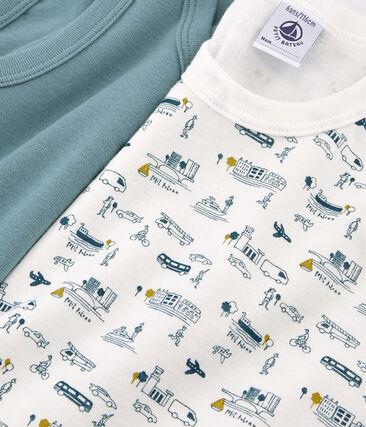 Par de camisetas de tirantes para niño lote .
