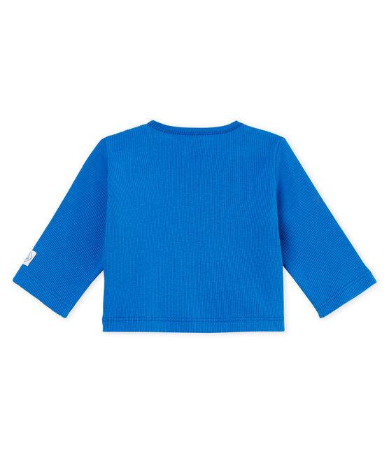 Cárdigan para bebé unisex azul Cool