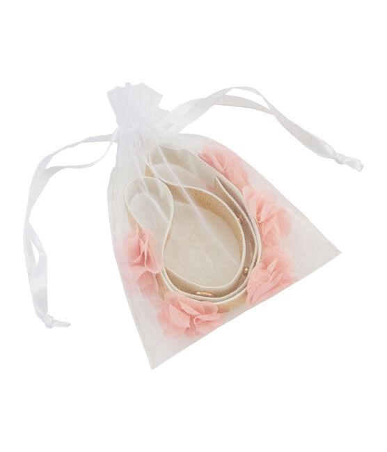 Cinturón niña blanco Marshmallow